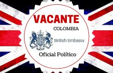 Vacante laboral con la Embajada de Reino Unido en Colombia