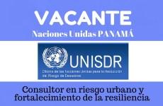 Trabaja con la oficina de Estrategia Internacional para la Reducción de Desastres de las Naciones Unidas en Panamá