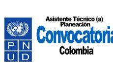 Convocatoria Asistente Técnico(a) Planeación
