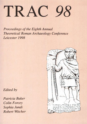 TRAC Proceedings 1998: Order direct from Oxbow