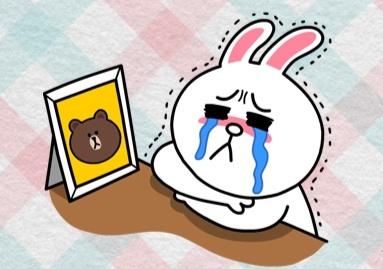 Line Sticker เศร้า Sad