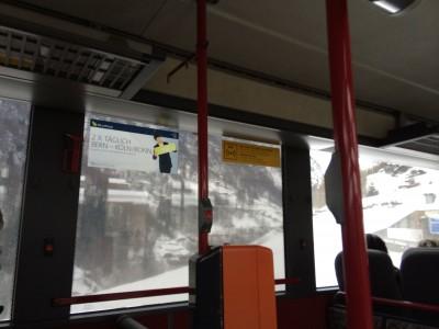 Bus 511 from VISP to SAAS GRUND