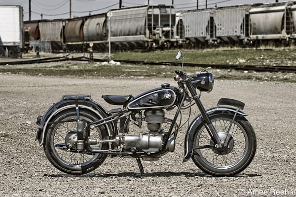 1954 BMW R25 profile