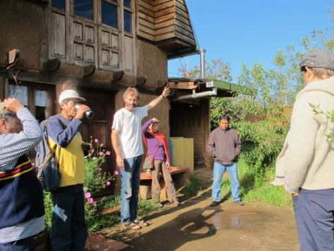 Holger Hieronomi teaches the principles of permaculture around the world and from his hands-on learning center, Tierramor, in Michoacán, Mexico. Photo: Tracy L. Barnett