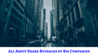 Share Buybacks from Big companies