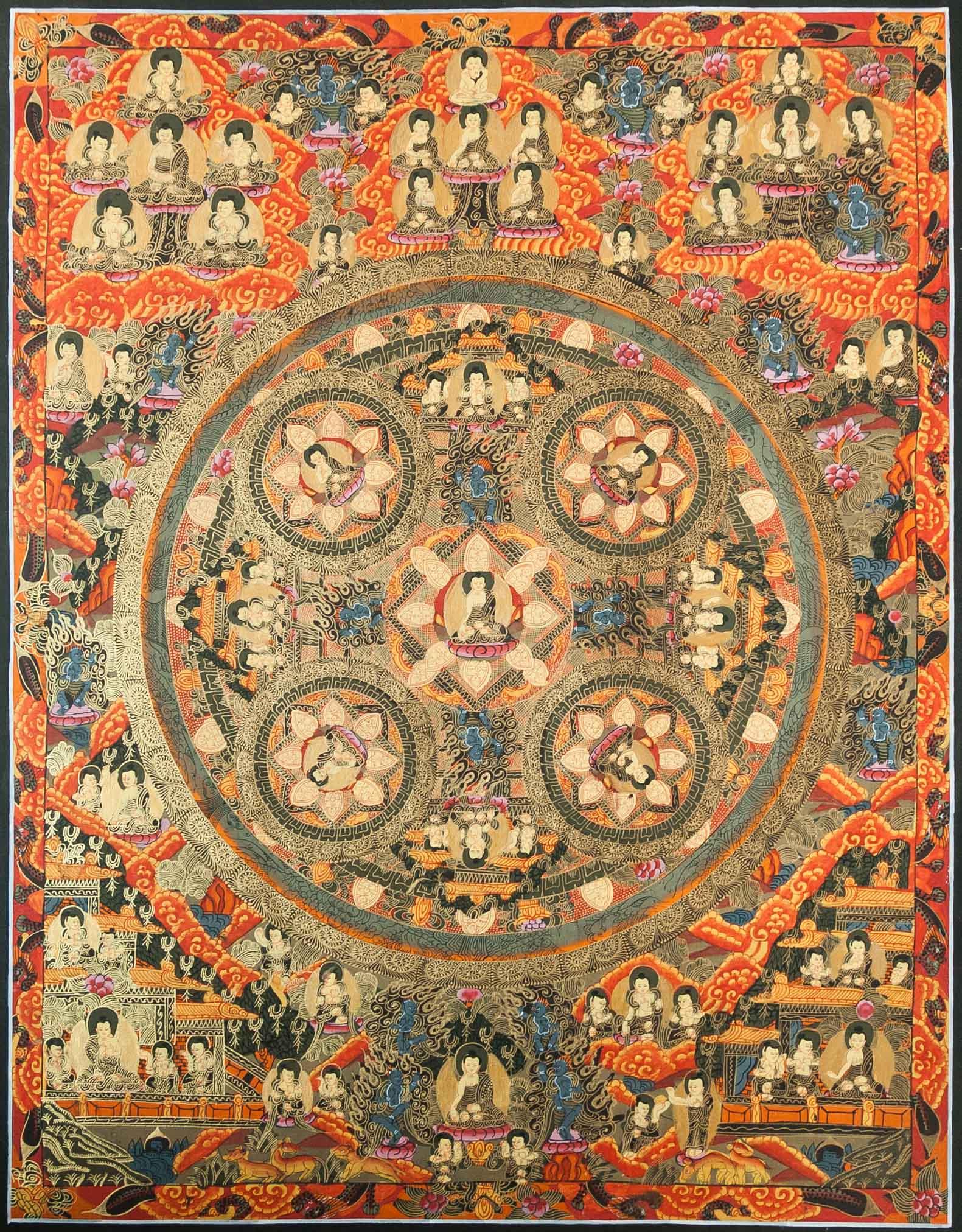 Red Bodhisattva Mandala