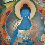 Tibetan Medicine Buddha Painting