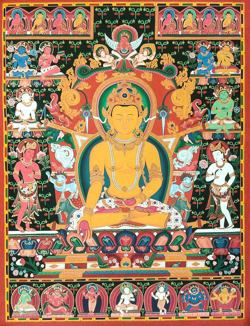 Newari Paubha of Ratnasambhava