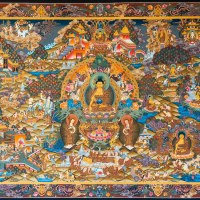Buddha Thangka Masterpiece