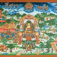 Buddha Thanka Painting