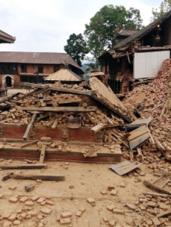 villages destroyed in nepal