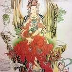Japanese Style Painting Senju Kannon