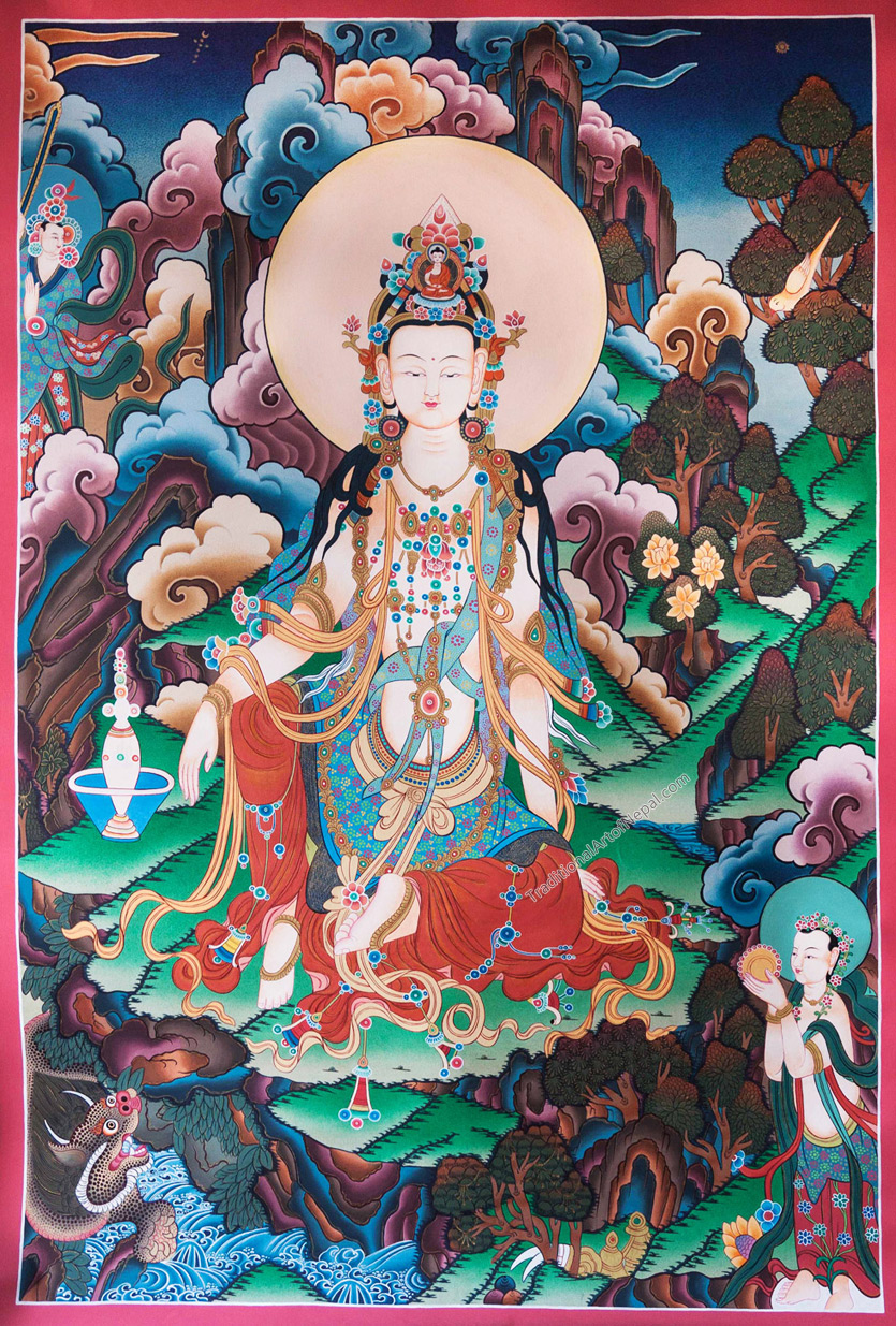 Painting of Guanyin Thanka
