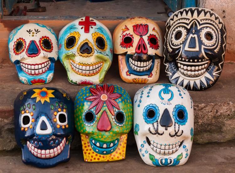 Mexican Skull Masks