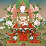 Tibetan Bon Deity Shenlha Okar