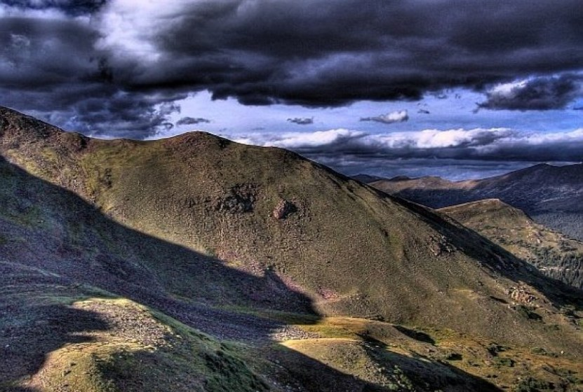 hdr mountains