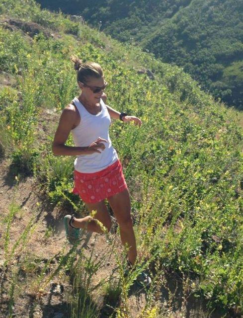Patagonia Nine Trails Skirt Britta Run