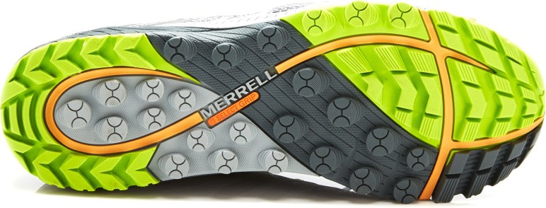 Merrells Select Grip Sole on the All Out Charge