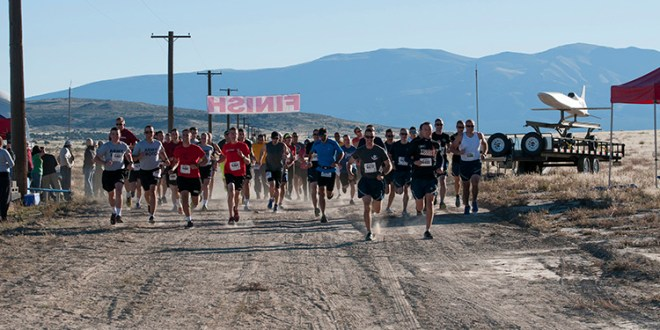 Second annual Dugway Isolation Run on Oct. 4, 2014 at U.S. Army Dugway Proving Ground, Utah. Open to the public, 64 runners participated in 10K, 20K, 30K and 50K events over and around Little Granite Peak (locally known as 5 Mile Hill). U.S. Army photo by Al Vogel, Dugway Public Affairs.