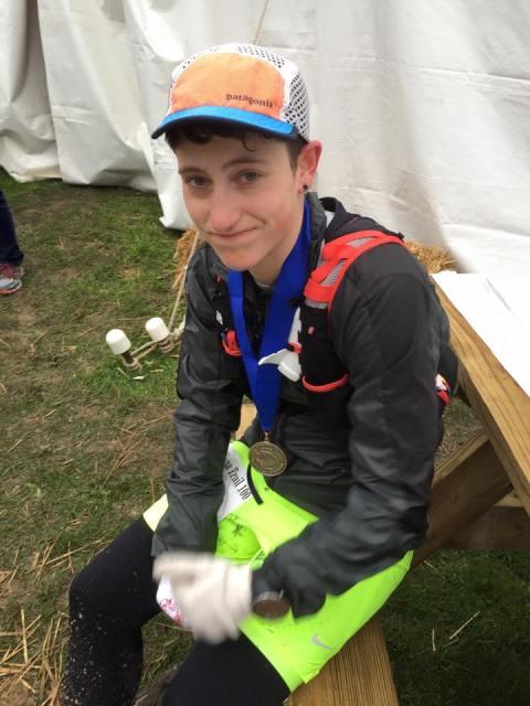 Amber Febrarro finishes 50 mile ultramarathon