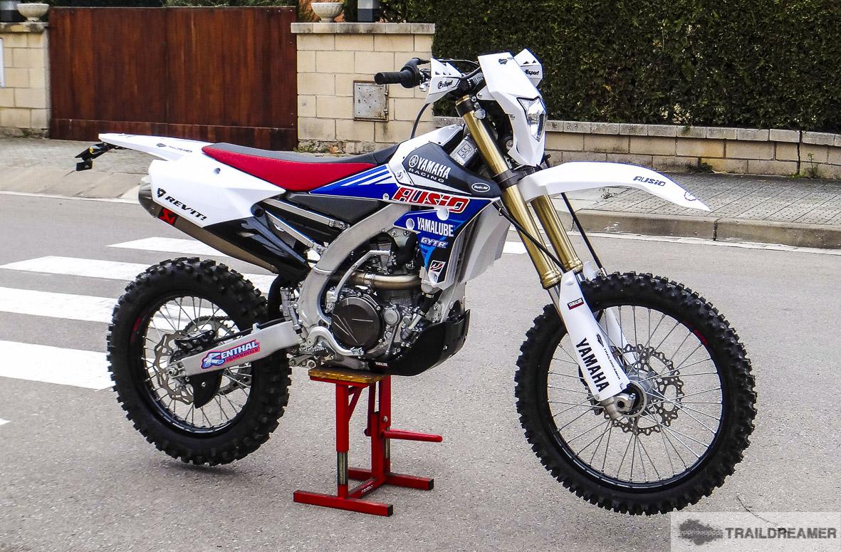 Ya está en casa: Yamaha WR450F '16