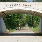 Longleaf Trace bike trail