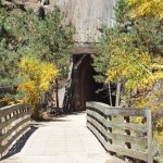 Mickelson Trail tunnel in south dakota
