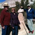 Cave Loop Trail and Canyon Trail combine to form Tent Rocks Trail