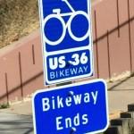US 36 Bikeway Denver to Boulder