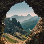 Hiking Italy's Lagazuoi Tunnels