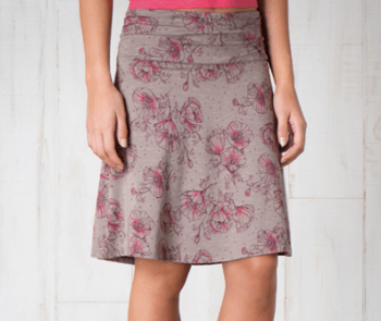 Toad & Co Chaka Skirt Best Travel Skirt