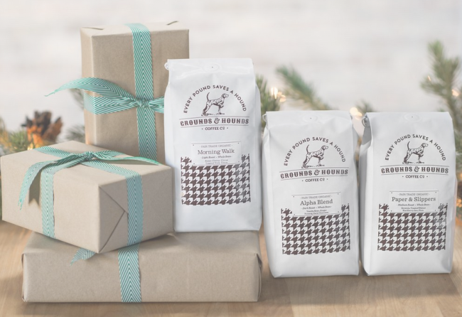 Grounds and Hounds Coffee Delivery