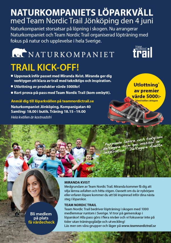 TNT Trail Kick-off!