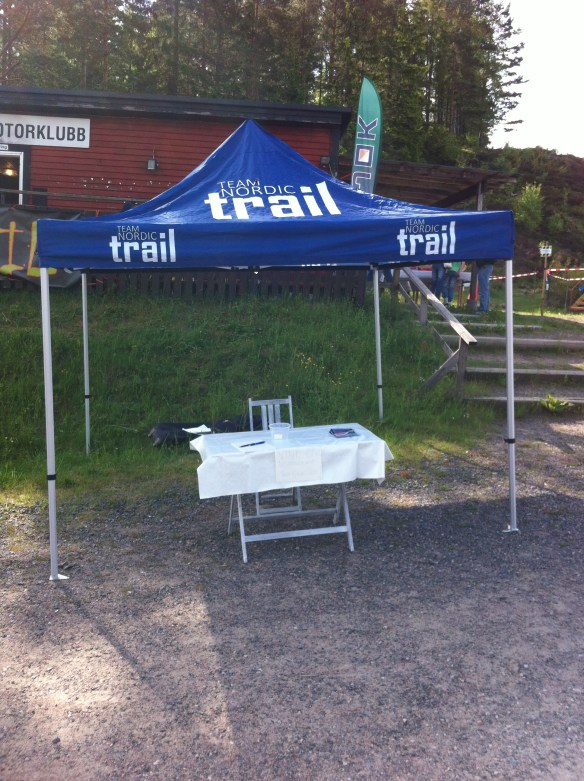 TNT-tält på plats!