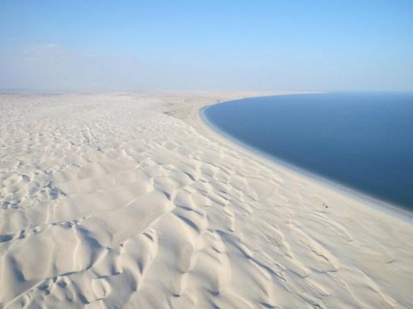 Oman Sugar Dunes and Beach