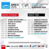 A State Of Trance 700 - Mainstage (11.04.2015) @ Buenos Aires, Argentina