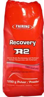 Fairing Recovery R2 innehåller protein, snabba kolhydrater och fruktos