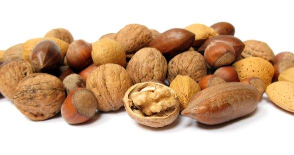 Nötter är nyttigt och kaloririkt