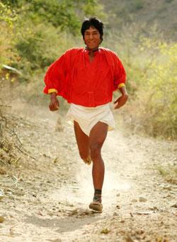 Tarahumara springer långt på en diet med väldigt mycket kolhydrater