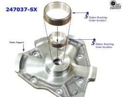 Ремкомплект втулок статора 4F27E Sonnax