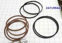 Комплект Колец тефлон, Sealing Ring Kit, акпп 4F27E