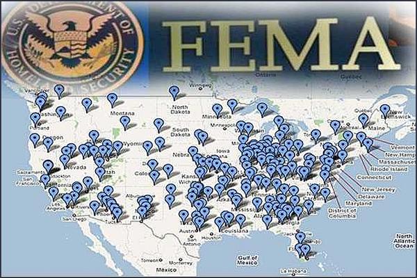 Campos de Detenção (prisões) da FEMA