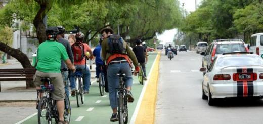 Bicisenda. Los ciclistas tienen un nuevo espacio para transitar.