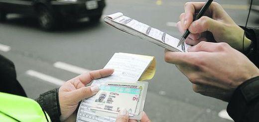 Control carnet de conducir - Municipalidad Carlos Paz