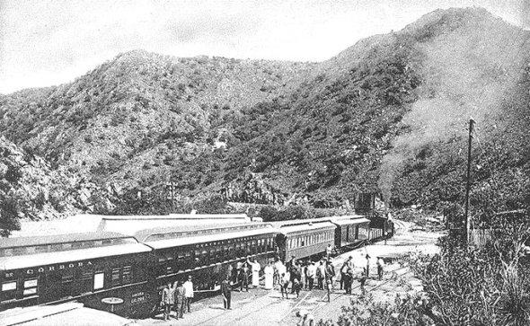 Estacion de tren Casa Bamba - cordoba de antano
