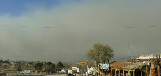 Humo por incendio desde la Ruta -  Foto de 72danydany