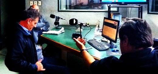 Entrevista a Raul Vaca Narvaja en el estudio de Radio Sucesos - 2