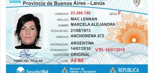 licencia de conducir nacional