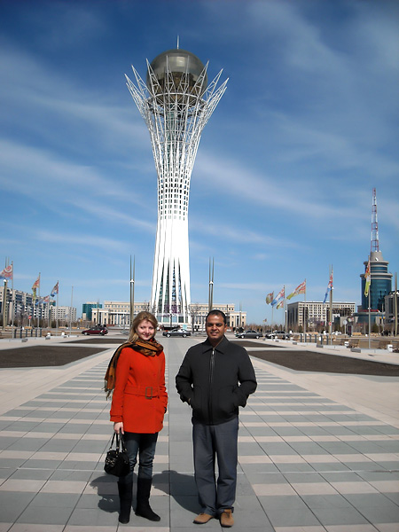 Sightseeing of Astana. Excursion translation in Astana