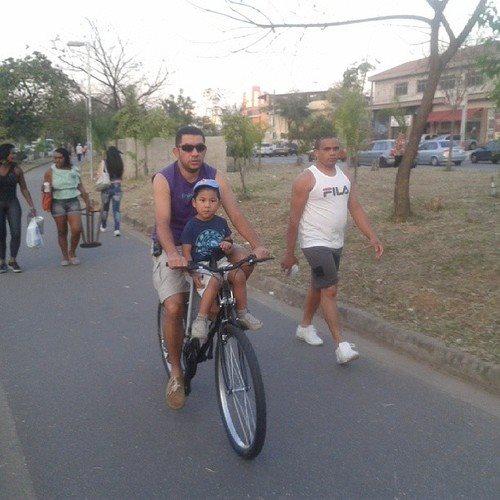 O milésimo ciclista em contagem na Zona Norte de São Paulo - Foto:Roberson Miguel